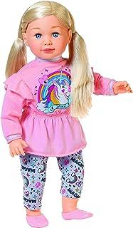 Zapf Creation 877654 Sally Grote pop met lang haar en zacht lichaam, 63 cm