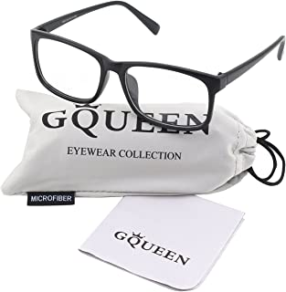 GQUEEN 201512 Casual Fashion Rectangular Frame Clear Lens...