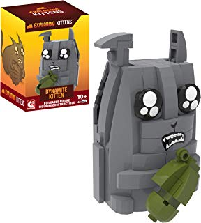 Exploding Kittens - Dynamite Cat Buildable Figure (142 pieces)