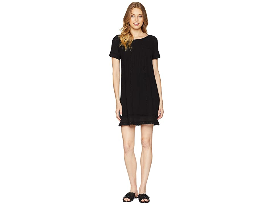 Sanctuary After Glow Boheme Dress (Black) Women