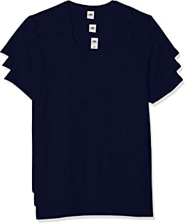 Fruit of the Loom Men's T-Shirt Iconic Tee, Lightweight Ringspun Tee, 3 Pack