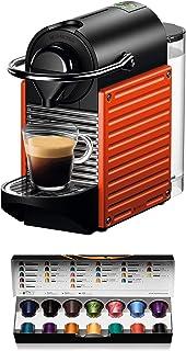 comprar comparacion Nespresso Krups Pixie XN3045 - Cafetera monodosis de cápsulas Nespresso, 19 bares, apagado automático, color rojo naranja