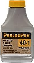Poulan Pro 3.2 oz 40:1 Synthetic 2-Cycle Oil