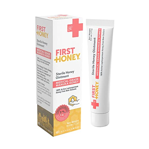 f96207f0bf0d First Honey® Sterile Manuka Honey Ointment with 100% Medical Grade Manuka  Honey for First
