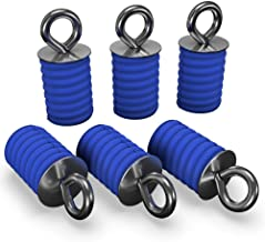 GripPRO ATV Anchors to fit Polaris Ranger & General Lock & Ride - ATV Tie Down Anchors Set of 6 - OEM Quality Fit ATV Lock...