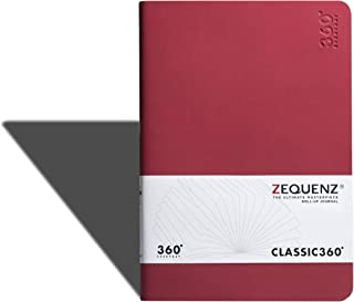 Zequenz 360 Everyday, Weekly & Monthly Planner, Diary, Undated, Soft Cover, Soft Bound, Large, 5.75