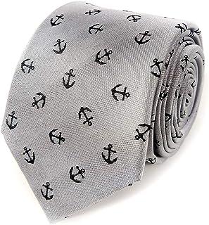 Men's Anchor Necktie - Men's Anchor Tie - Men's US Navy Necktie - Sailing Necktie - Sailboat Necktie - Nautical Necktie