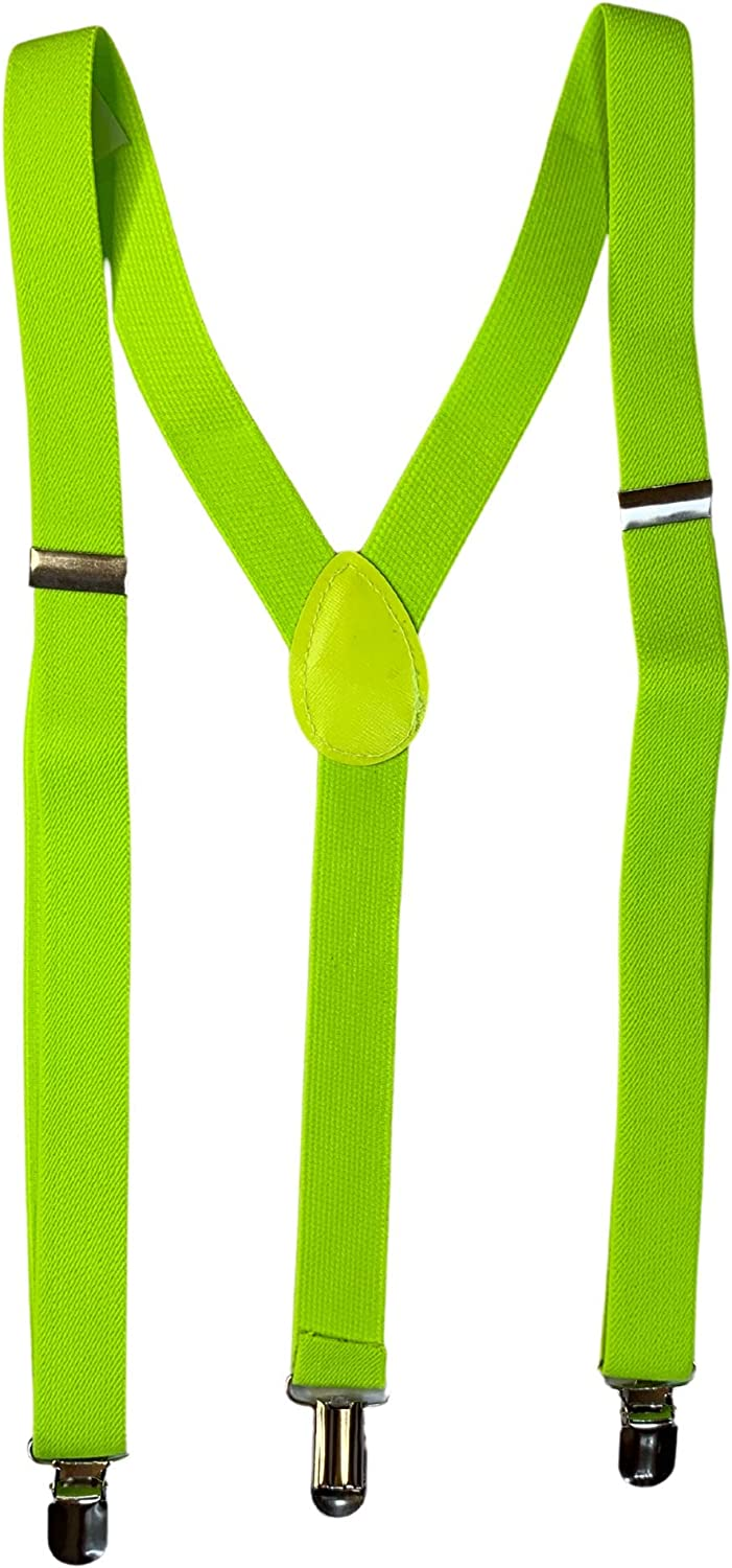 Lyte Up Clothing Neon Suspenders