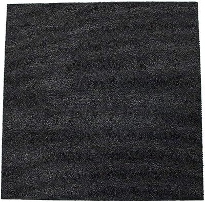 タイルカーペット MJ-1002 50×50cm ブラック 20枚入 13277979