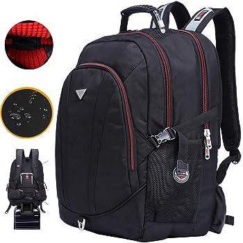 ビジネスバッグ 登山用バッグ 防撥水 機内持ち込み 海外旅行 バッグ バックパック ハイキング クライミング バックパックトレッキング 18.4インチ対応ビジネスバックパック 大容量 多機能 専用レインカバー付き(60L)