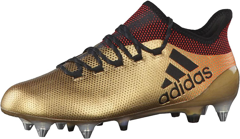 Adidas Performance herr X X X 17.1 Soft Ground Sports Football stövlar - guld - 11.5  reklamartiklar
