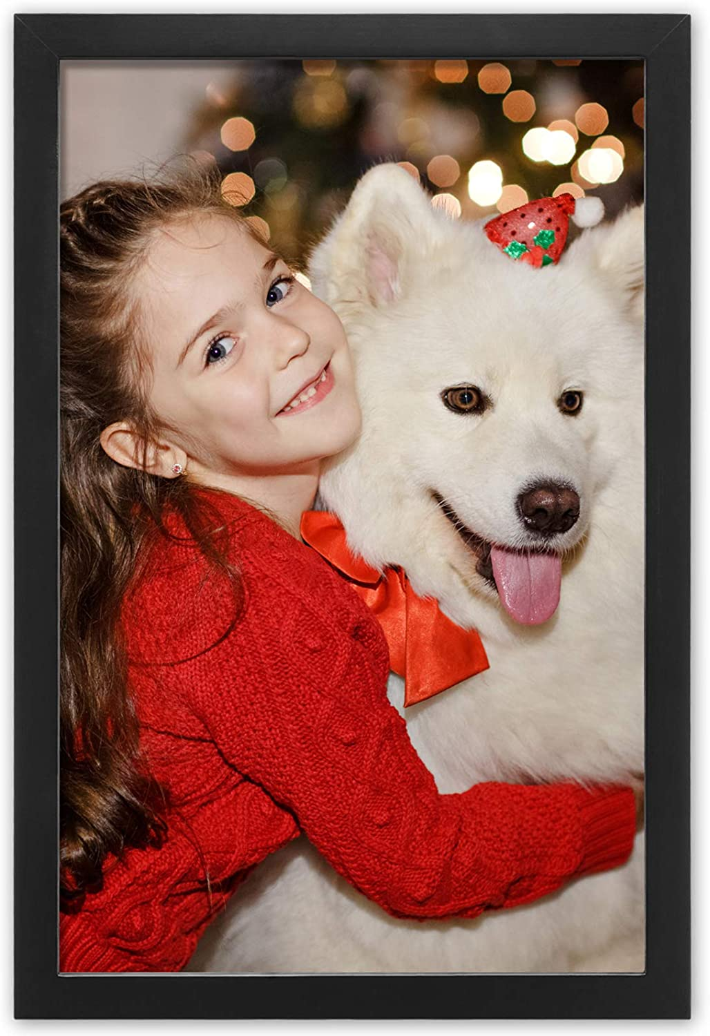 Ophanie 11x17 Picture Frame Poster Frames Wood of Solid Long Beach Mall Limited Special Price Made an