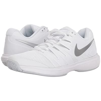 Nike Air Zoom Prestige (White/Metallic Silver/Pure Platinum) Women