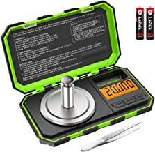 Brifit Professional Digital Mini Scale, 20g-0.001g Pocket Scale, Electronic Smart Scale with 20g Calibration Weight (Batte...