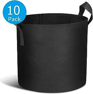 Best 1/2 gallon grow bags Reviews