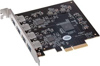 Sonnet Allegro Pro USB 3.1 Type A PCIe Card (Four SuperSpeed 10Gbps USB Connectors)