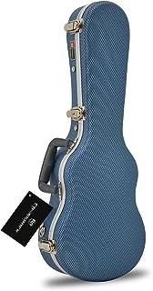 Crossrock CRA800CUBL ABS Concert Ukulele Hard-Shell Case, Blue