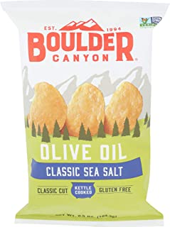 Boulder Canyon, Chips Potato Olive Oil, 6.5 Ounce