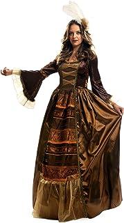 My Other Me - Disfraz de Reina medieval de lujo, talla M-L (Viving Costumes MOM01247)