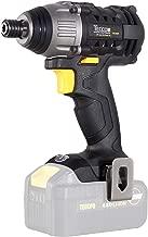 Atornillador impacto, TECCPO 18V 180 Nm, 6.35mm Mandril de metal Autobloqueante, 0-2900RPM, Velocidad variable, Sin batería, Sin cargador-TDID01P