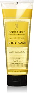 Deep Steep Body Wash, Grapefruit Bergamot , 8 Ounces