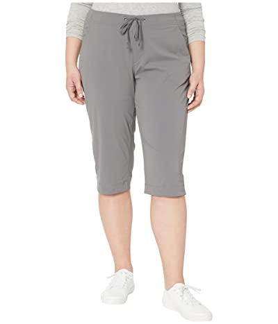 Columbia Plus Size Anytime Outdoortm Capri (City Grey) Women