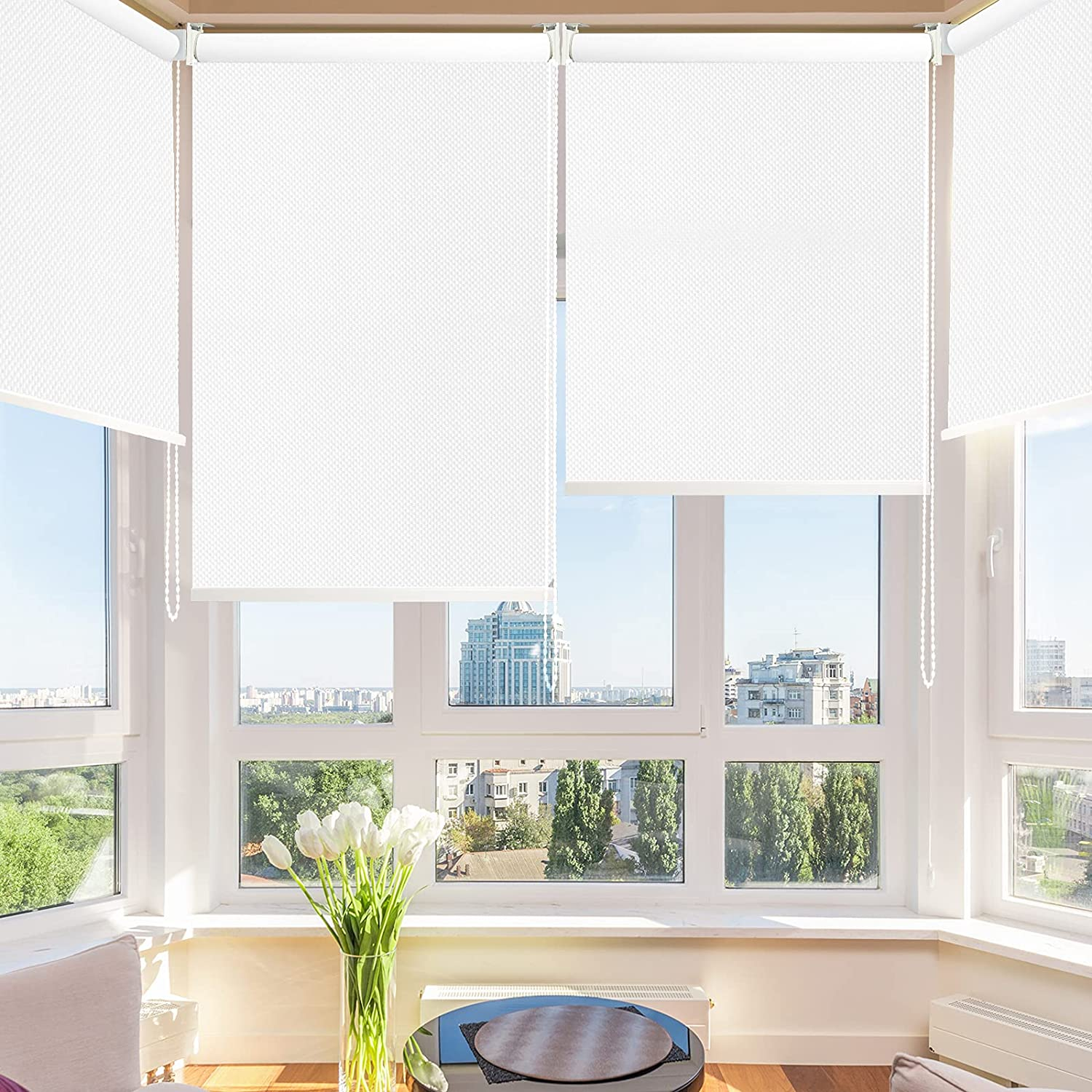 SHUNJIN Beauty products 100% Blackout Roller Shade Insulated Waterproo Thermal - Super sale period limited