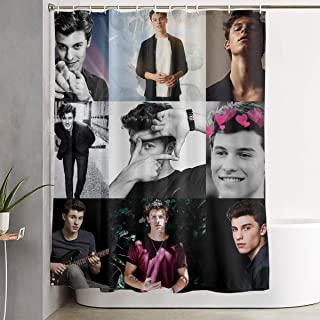 Handsome Boy Shawn Peter Raul Mendes Shower Curtain Different Visual Enjoyment