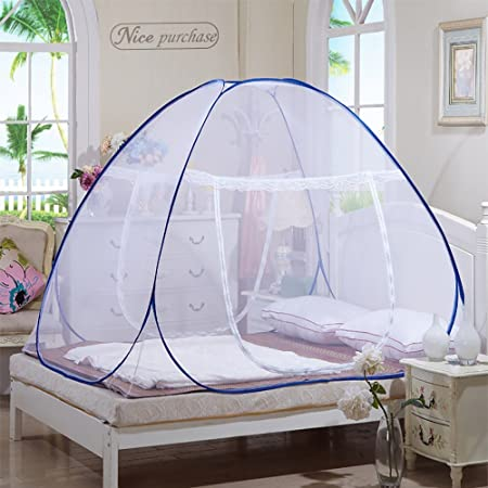 Nice purchase New Portable Folding Mosquito Net Tent Freestand Bed 1 or 2 Openings (1.0m(75 by 38 inches LxW))