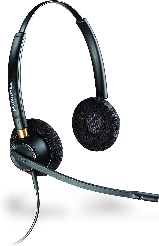 Plantronics 5% OFF PLNHW520 EncorePro HW520 Premium Binaural Max 85% OFF R Headset