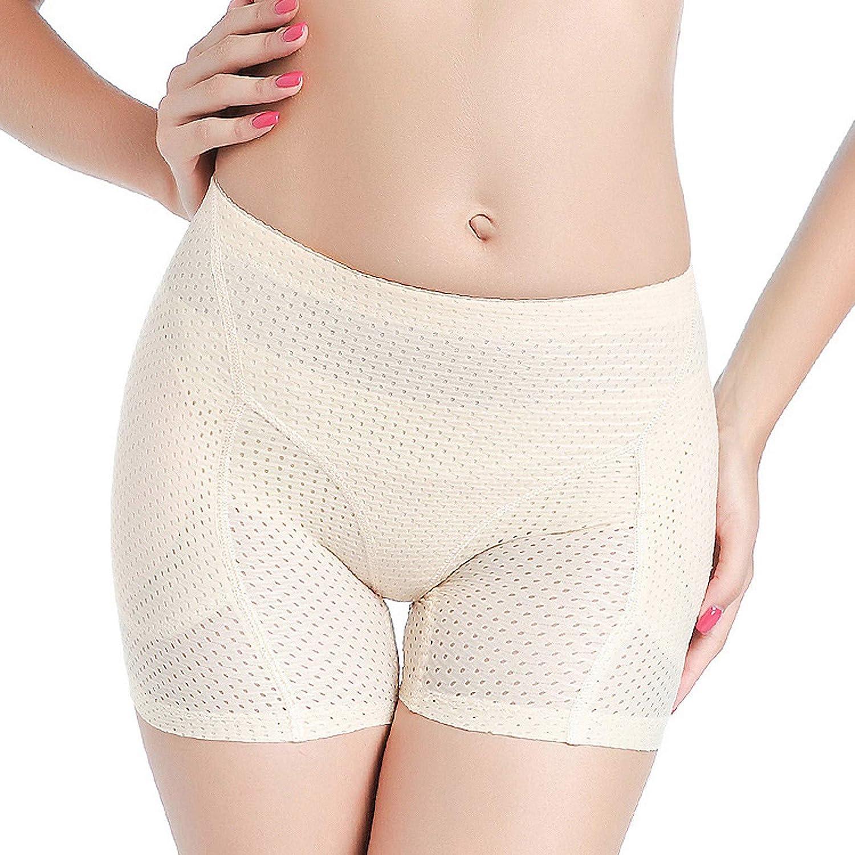 EseFGJK Womens Shaperwear Butt Lifting Mesh Panties, Booty Shorts Seamless Underwear Enhancer Body Shaper
