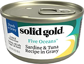Solid Gold – Five Oceans Holistic Grain-Free Wet Cat Food for All Life Stages..
