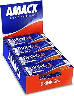 Amacx Drink Gel 60 ml - Energiegel - Blackcurrant Caffeine - 12 stuks