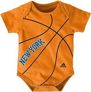New York Knicks adidas Baby Creeper Bodysuit - Orange
