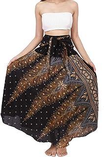 Banjamath Women`s Long Bohemian Style Gypsy Boho Hippie Skirt