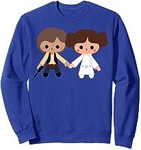 Star Wars Han Solo Princess Leia Cute Cartoon Sweatshirt