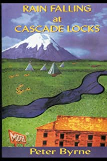 RAIN FALLING AT CASCADE LOCKS