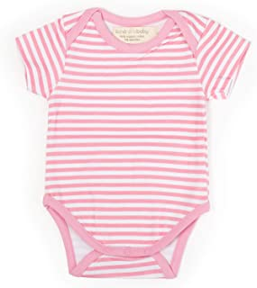 Organic Cotton Bodysuit - Onesie for Newborn and Infant Girls and Boys