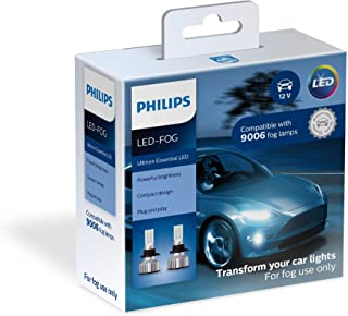 Philips Automotive Lighting 9006 Ultinon Essential LED Fog Lights, 2 Pack