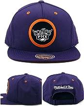 Mitchell & Ness Phoenix Suns New Dobby Nylon Purple Orange Strapback Era Hat Cap