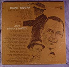 Frank Sinatra Mint / NM Stereo Lp - The World We Knew - Also Featuring Nancy Sinatra - Reprise Records Late 1960s