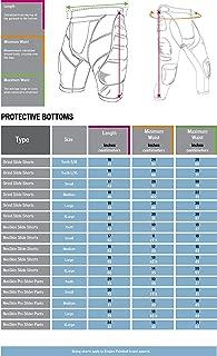 Empire Paintball Neoskin Slide Short W/ Knee Pads - Black/Grey (Large)