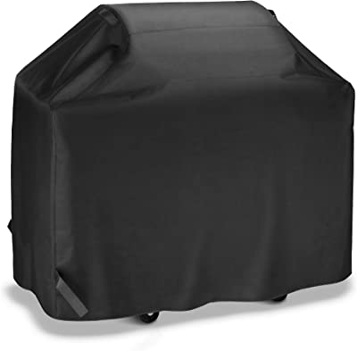 iDepot BBQ Grill Cover 53 Inch, Outdoor Heavy Duty Waterproof Gas Grill Covers, Professional UV Fade Resistant, All Weather Protection Barbecue Cover Fits Weber Char-Broil Nexgrill Brinkmann and More