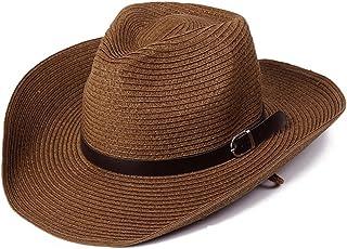 c061d98964075 Summer Men Straw Cowboy Hat Outdoor Sun Protection Sun Hat Foldable Caps