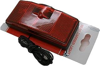comprar comparacion Luz Foco Trasero para Portabultos Transportin Bicicleta con Cable de Dinamo 3243