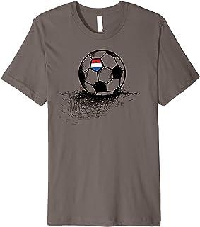Netherlands Soccer Ball Flag Jersey Shirt - Holland Football