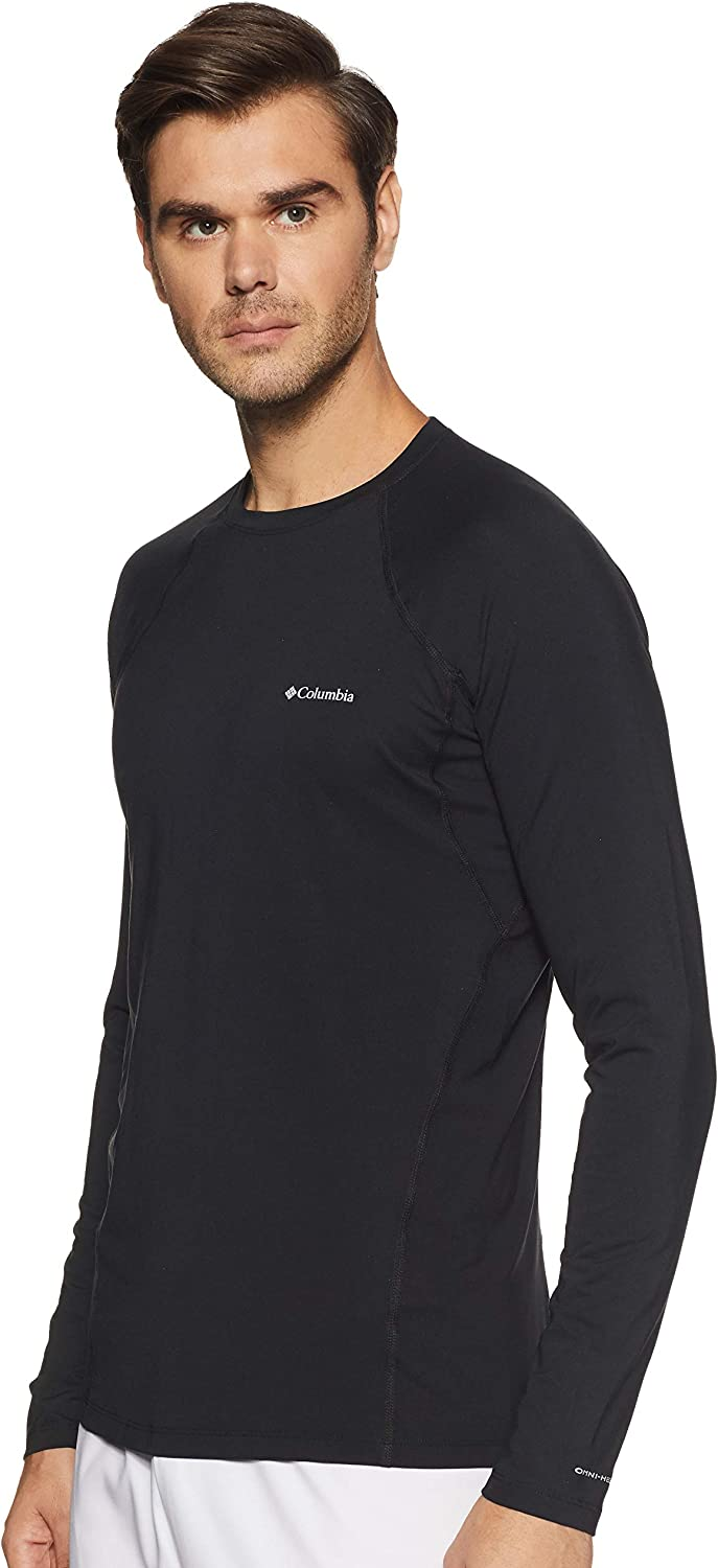 Max 68% OFF Columbia Midweight Stretch Long Sleeve SM Black Top 4 years warranty
