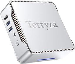 Mini PC Windows 10 Pro 8GB DDR4,128GB SSD Intel Celeron J4125 (up to 2.7GHz) Mini Desktop Computer Support Multi-Displays ...