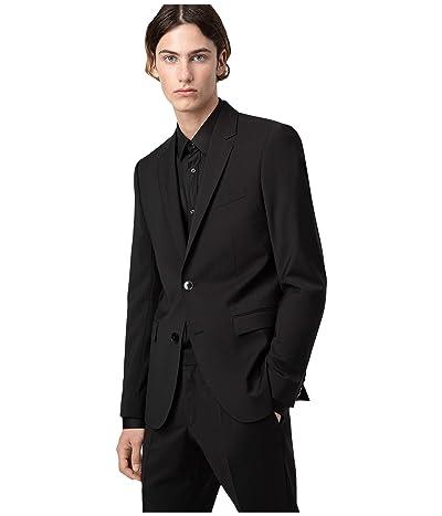 BOSS Hugo Boss Aldons Extra-Slim Fit Wool Jacket By HUGO (Black) Men