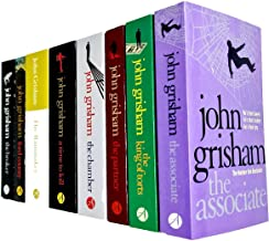 John Grisham Collection 8 Books Set (The Associate, The King Of Torts, The Partner, The Chamber, A Time To Kill, The Rainm...